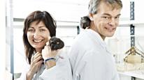 May-Britt og Edvard Moser, og John O'Keefe, har fått Nobelprisen i medisin 2014. Foto: Afp/Geir Mogen