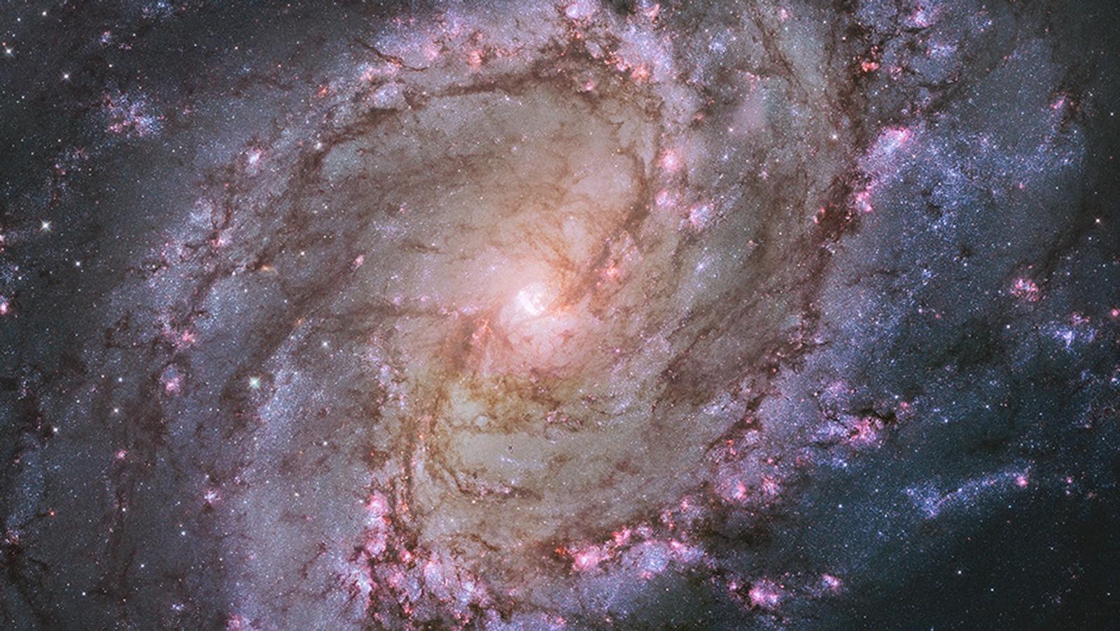 Galaksen M83.
