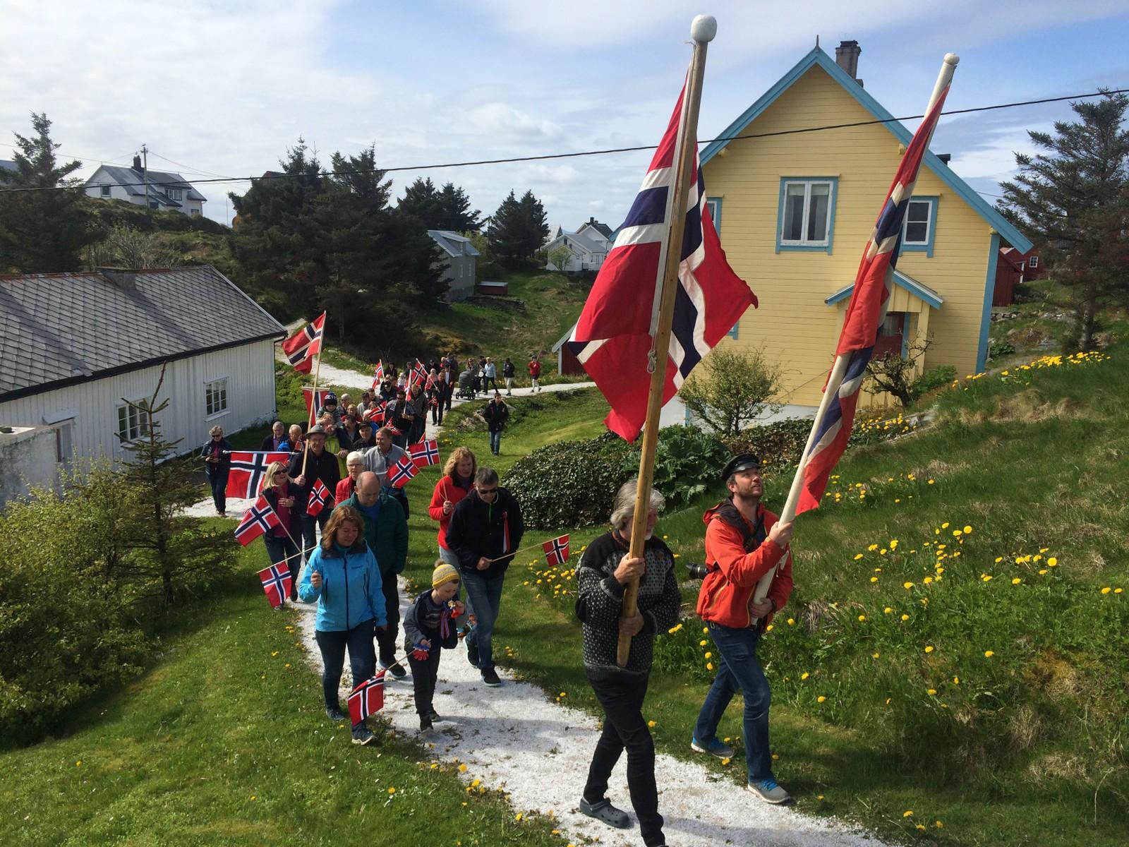 17.mai feiring på Søre Bjørnsund.