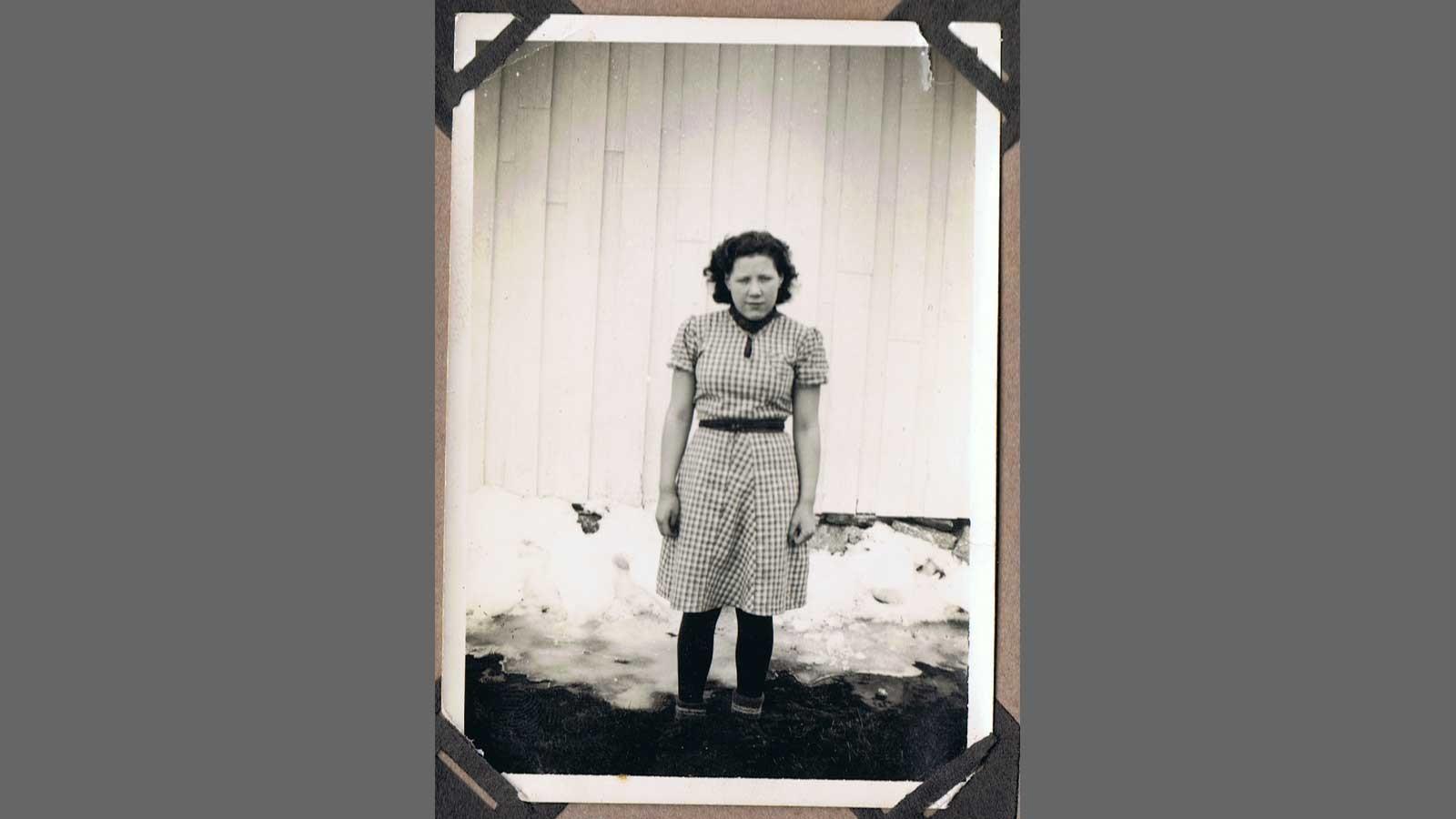 Passfoto av Sigrid Saur