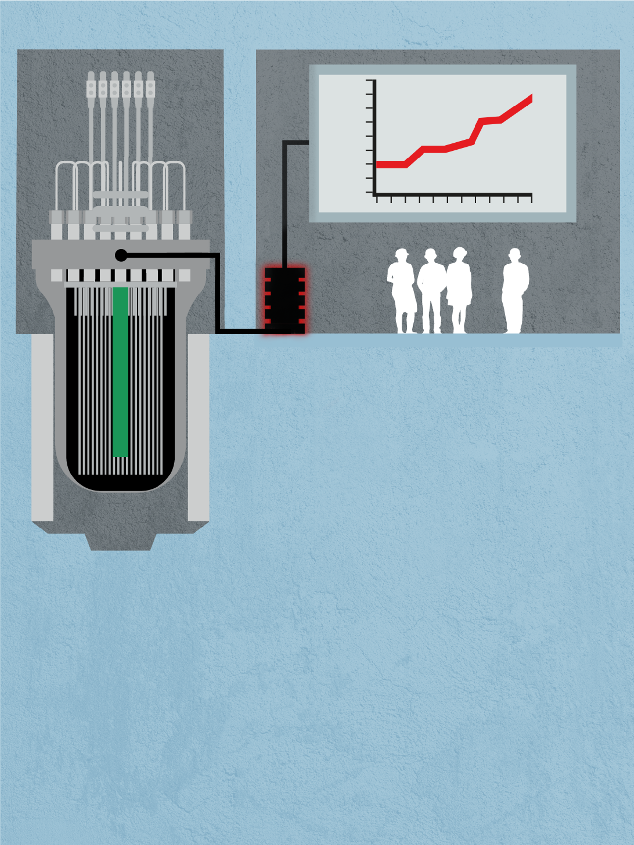 Atomreaktor illustrasjon del 3