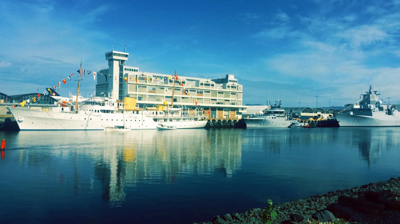 Kongelig besøk i Trondheim