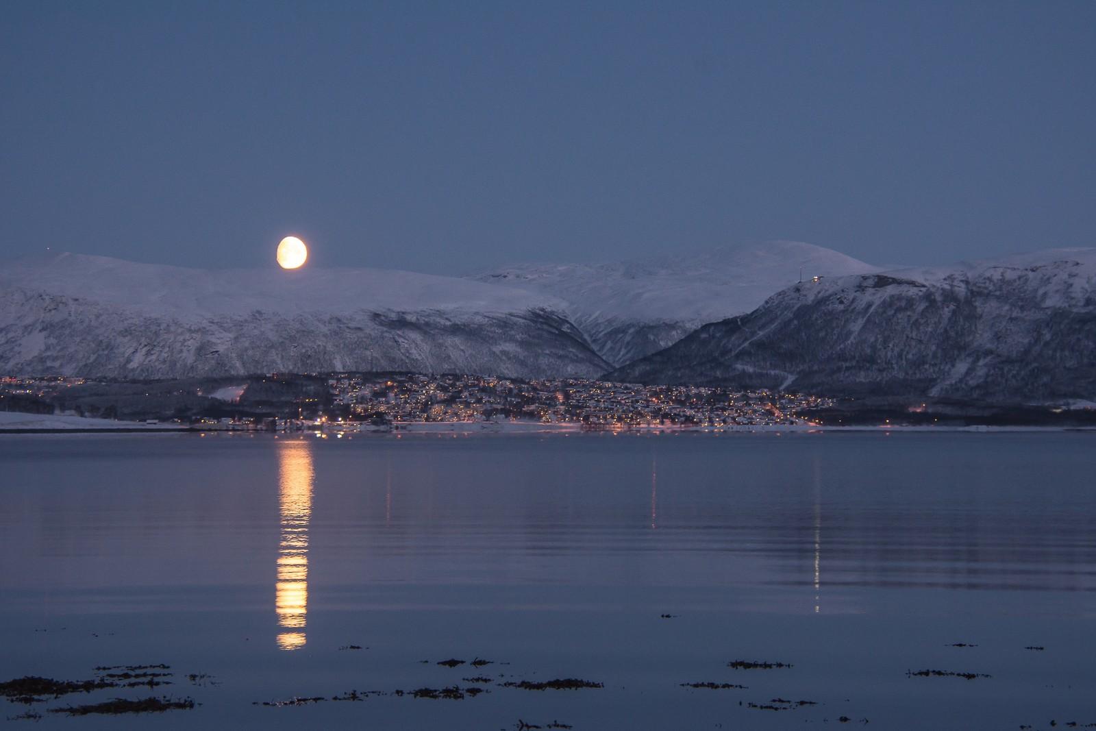 Den blåe timen, Tromsø.