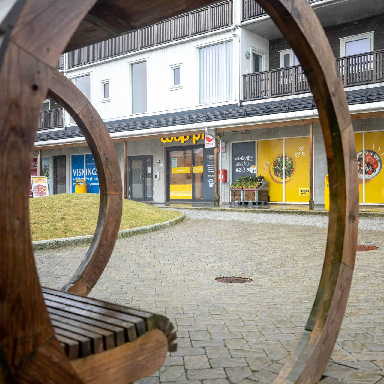 Den eneste butikken på Kvitsøy er Coop Prix.