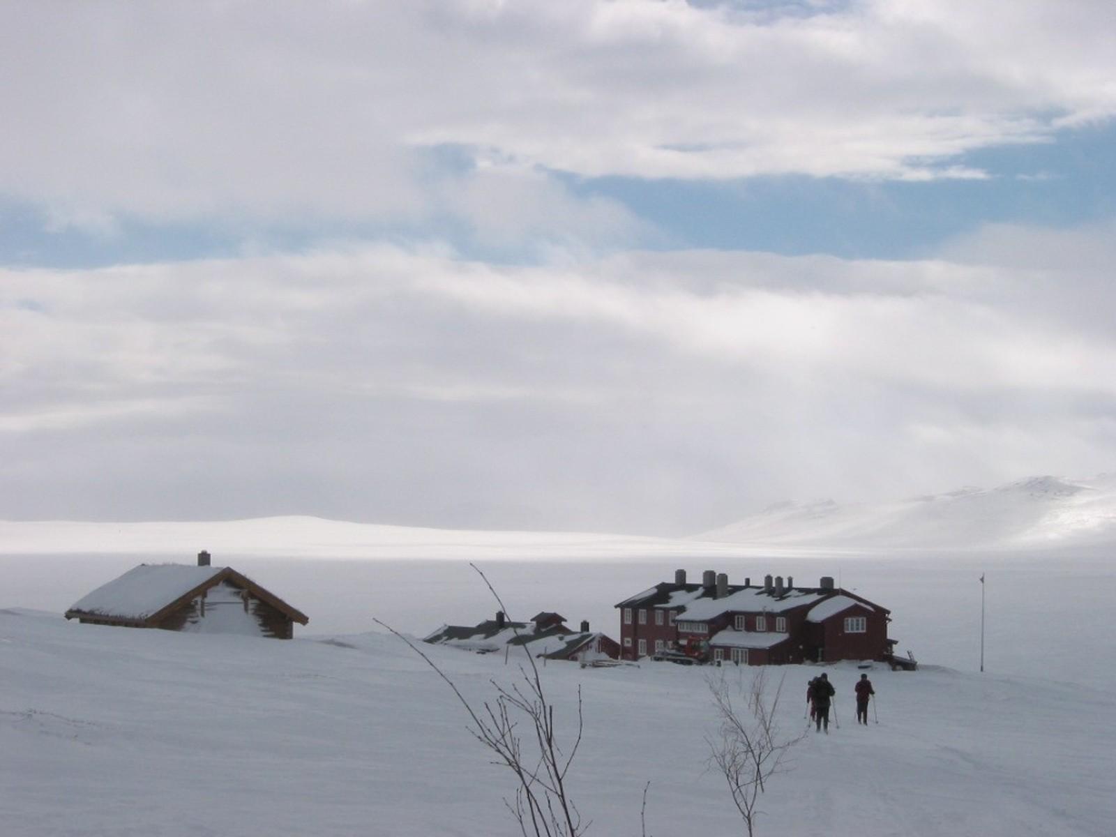 ØST: Rauhelleren på Hardangervidda.