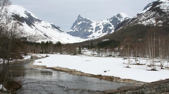 Hornindalsrokken. Foto: Ottar Starheim, NRK.