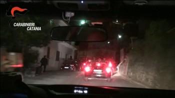 Video frå politiet i Catnia.