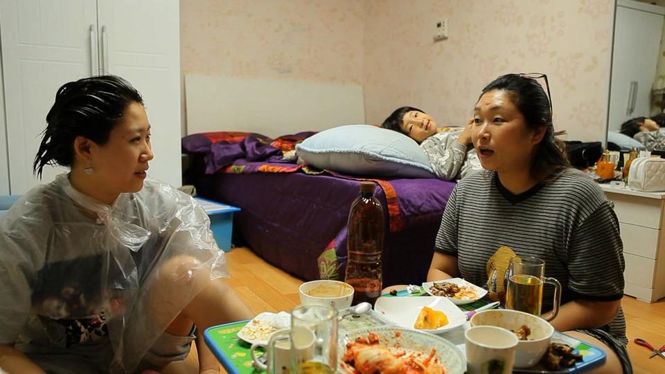 Småbarnsmor i Sør-Korea