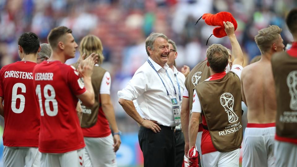 Fotball - VM: Høydepunkter Danmark - Frankrike, Island - Kroatia og Nigeria - Argentina