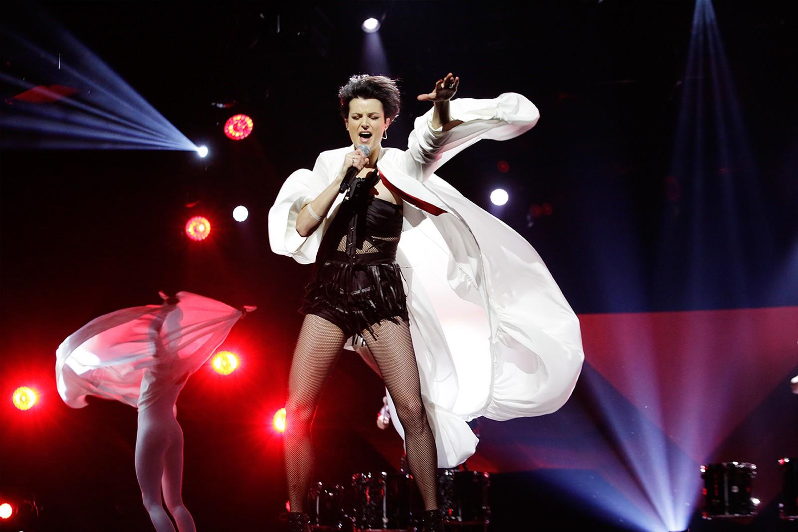 Bergensartisten Karin Park skrev «I Feed You My Love» som tok Margaret Berger til den internasjonale finalen i 2013. I år fremfører hun sin egen låt «Human Beings».
