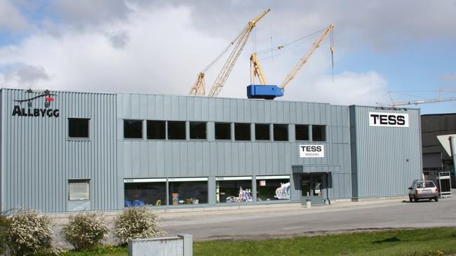 Allbygg har hovudkvarteret sitt på Evja. Foto: Ottar Starheim, NRK.