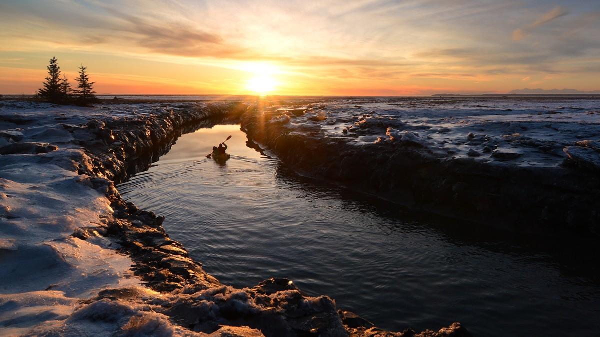 Kajakk i Alaska - Foto: Paxson Woelber (cc) Flickr.com
