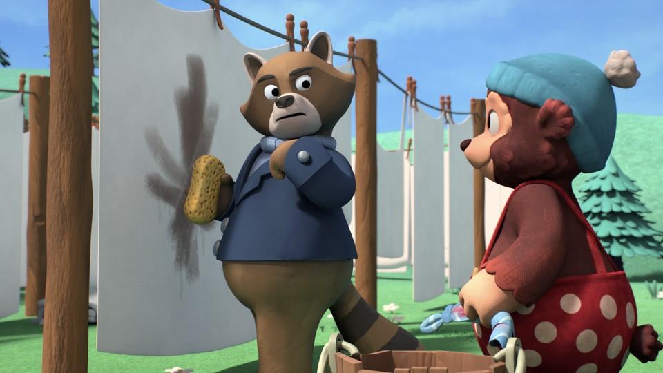 masha og bjørn bamse