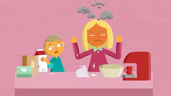 Norsk animasjon for barn om fysisk vold i hjemmet. Alle barn i Norge har rett til å få hjelp dersom de er redde for en voksen hjemme hos seg selv.
