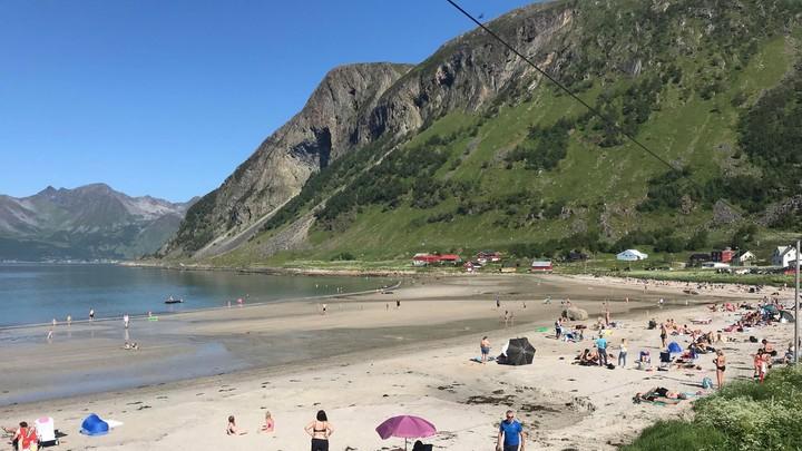 Grøtfjord - Foto: Sindre Reinholt/NRK