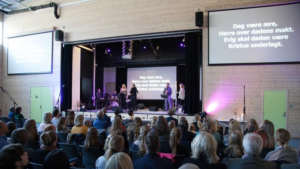 Gudstjeneste fra Østsida frikirke, Kristiansand