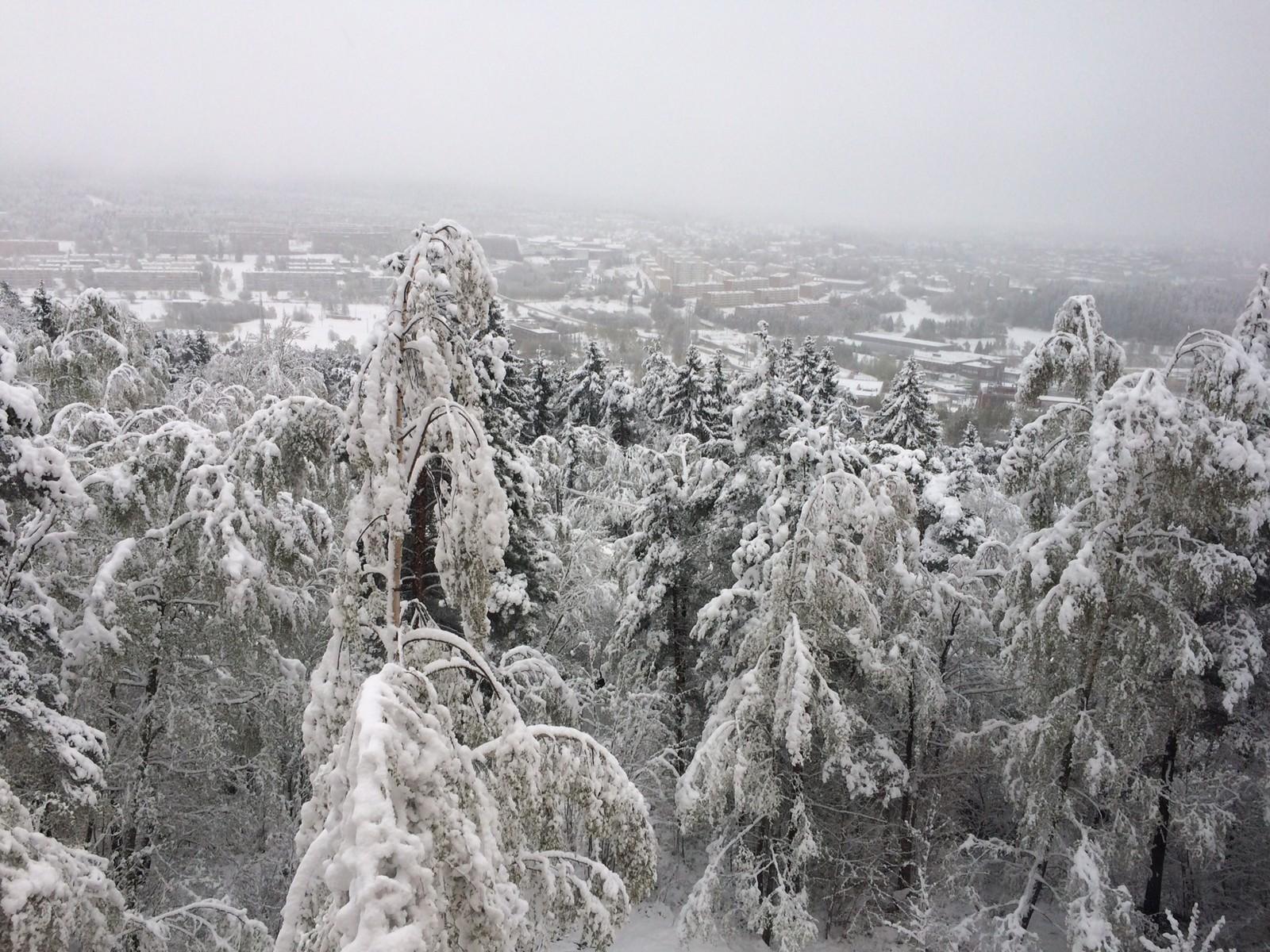 Utsikt fra Romsås.