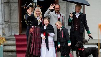 Kronprinsfamilien på Skaugmum