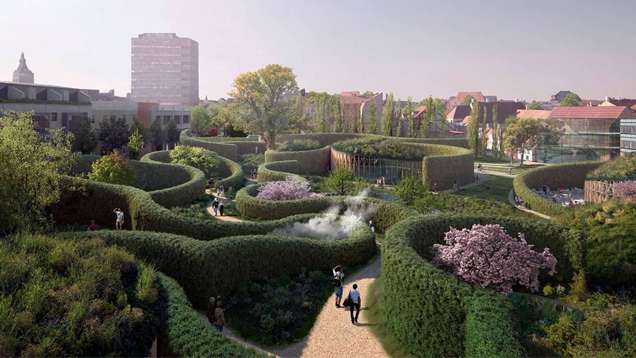 Plan for H.C.Andersens Hus i Odense