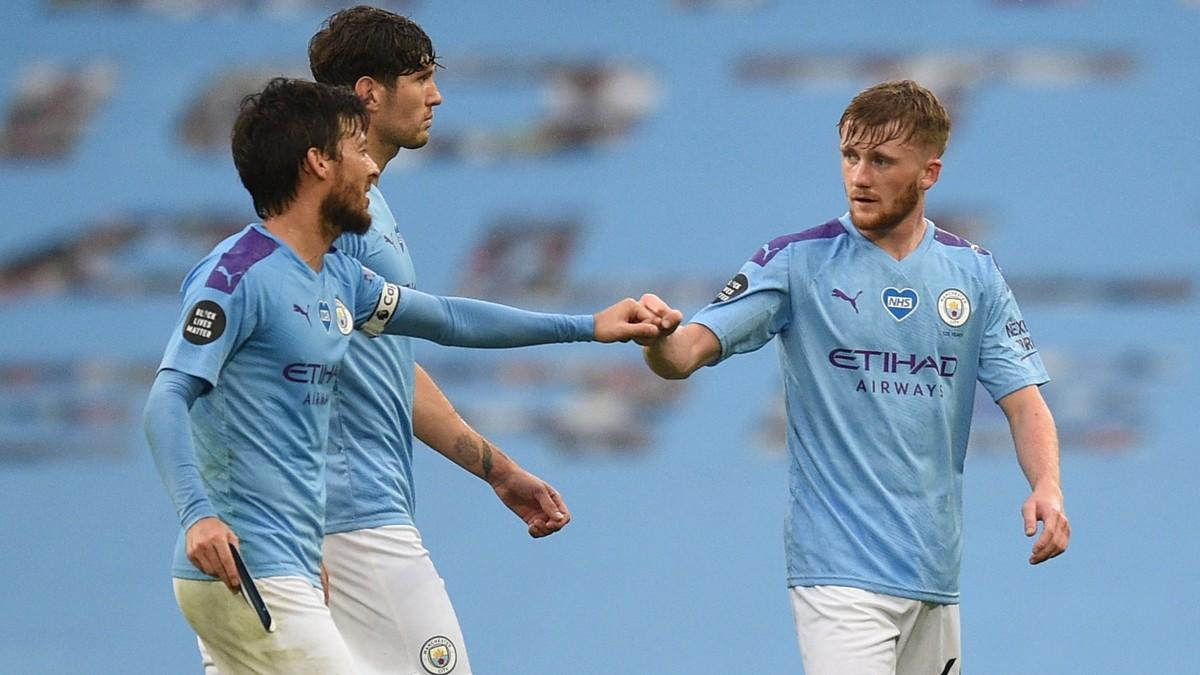 Fem  målscorere  i  City-seier