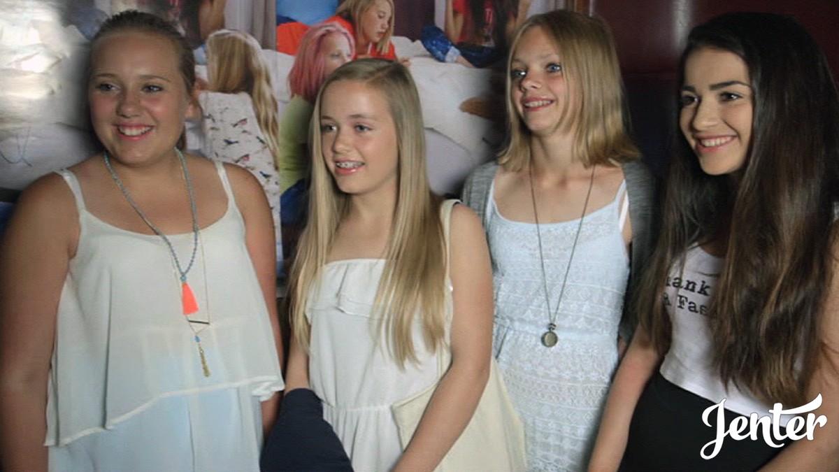 tre jenter som kliner finnmark
