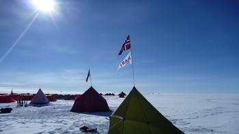 Rekonstruksjon av Amundsens telt