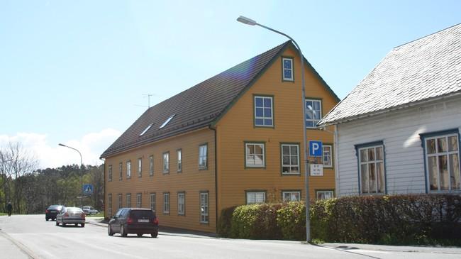 Von Gartneri heldt til i denne bygningen. Foto: Ottar Starheim, NRK.
