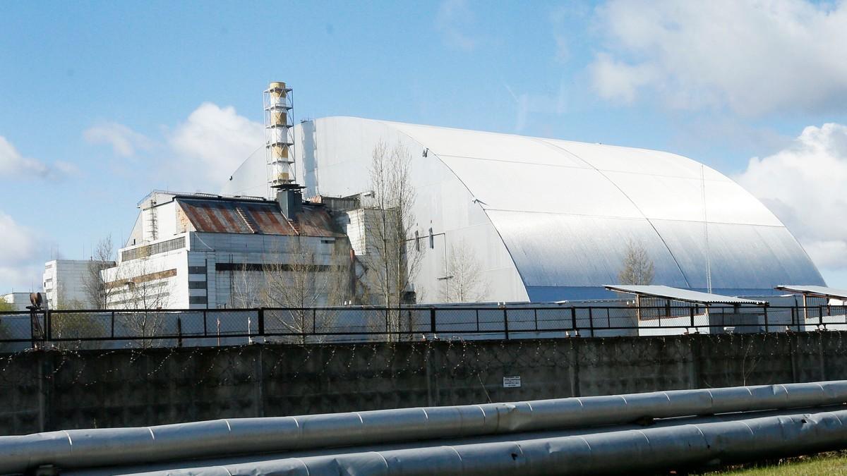 Økt stråling fra atomreaktoren i Tsjernobyl