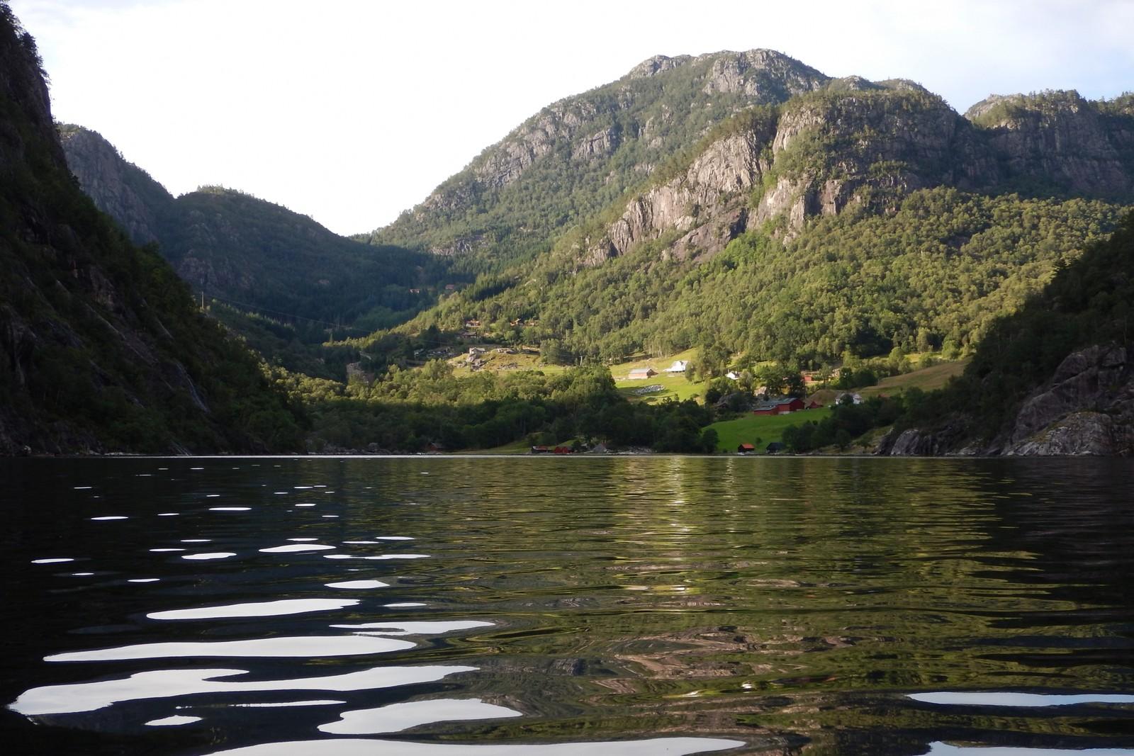Tyssebotn i Suldal kommune
