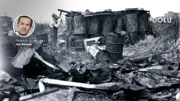 – Her bodde flere hundre nordmenn i en slumleir