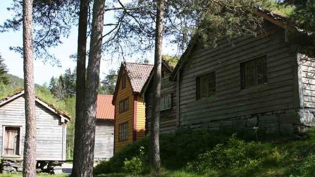 Frå Nordfjord Folkemuseum. Foto: Ottar Starheim, NRK.
