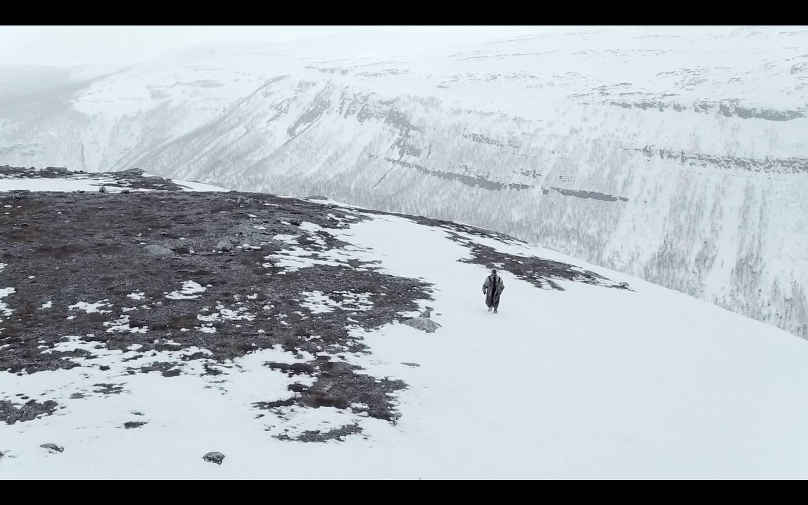 Dronebilde fra Alta-dalen.
