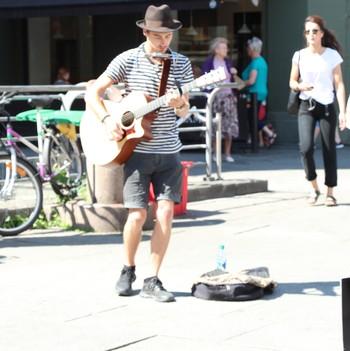 Gatemusiker i Oslo