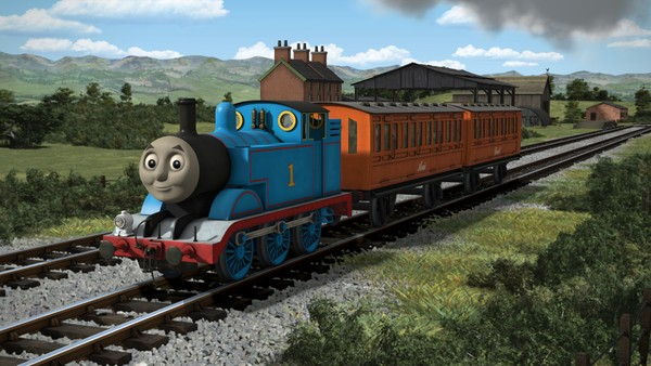 Britisk animasjonsserie. Lokomotivet Thomas og vennene hans er klare for nye opplevelser - inne på stasjonen eller ute langs jernbanesporet.