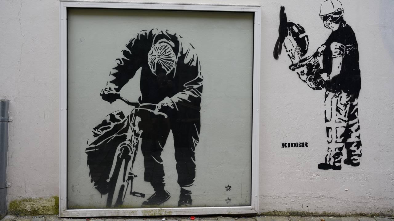 Gatekunst i Bergen. Byoriginalen
