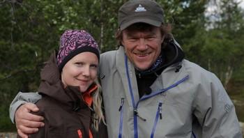 Marianne Rasmussen Kolvik og Lars Monsen i Ingen Grenser