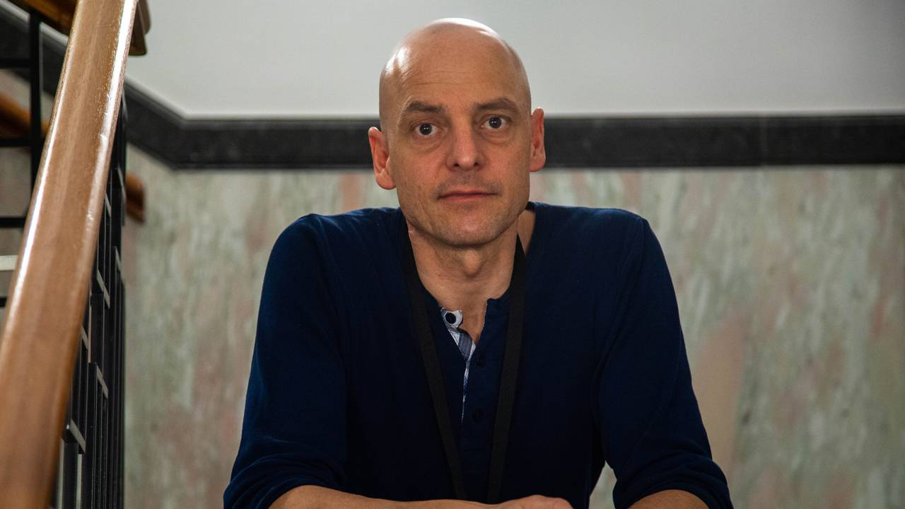 Lydtekniker Jens Dreyer i Konsertsystemer.