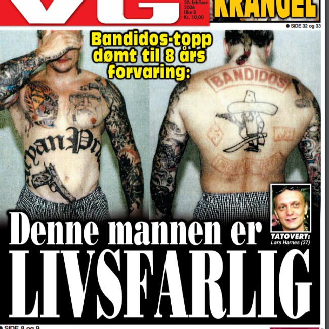Lars Harnes, Bandidos