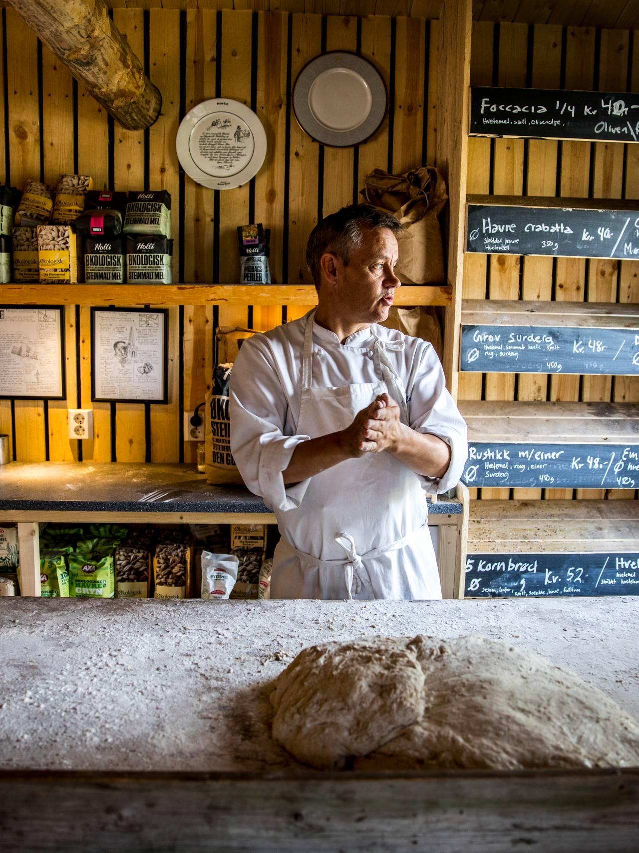 Bakeriet på Trasti og Trine i Alta.
