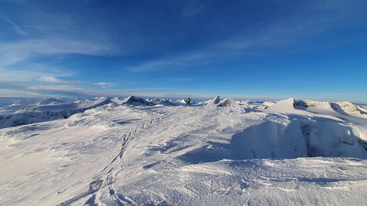 Bilde fra Valdresflye
