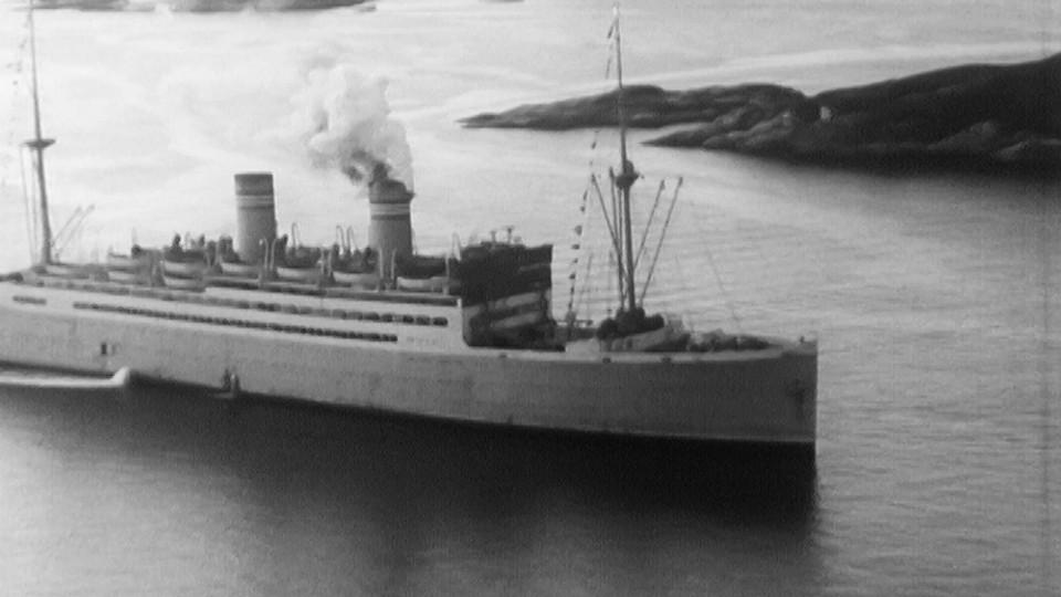 Siste reis med DS Stavangerfjord