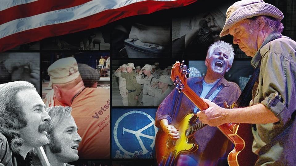 CSNY - Deja Vu: Neil Young og krigen