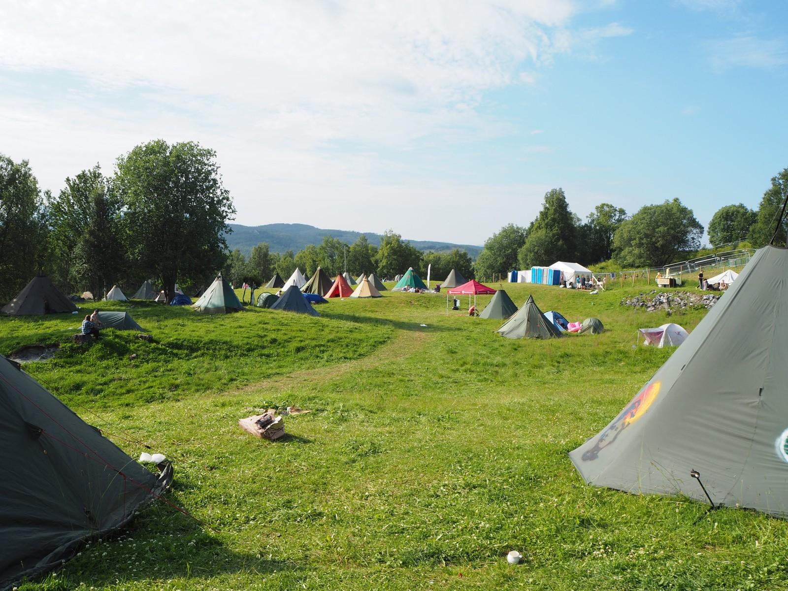 Campen på Márkomeannu