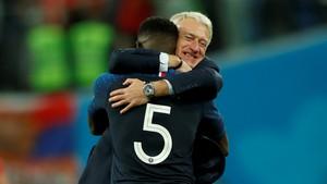 Fotball - VM: Høydepunkter semifinale Frankrike - Belgia
