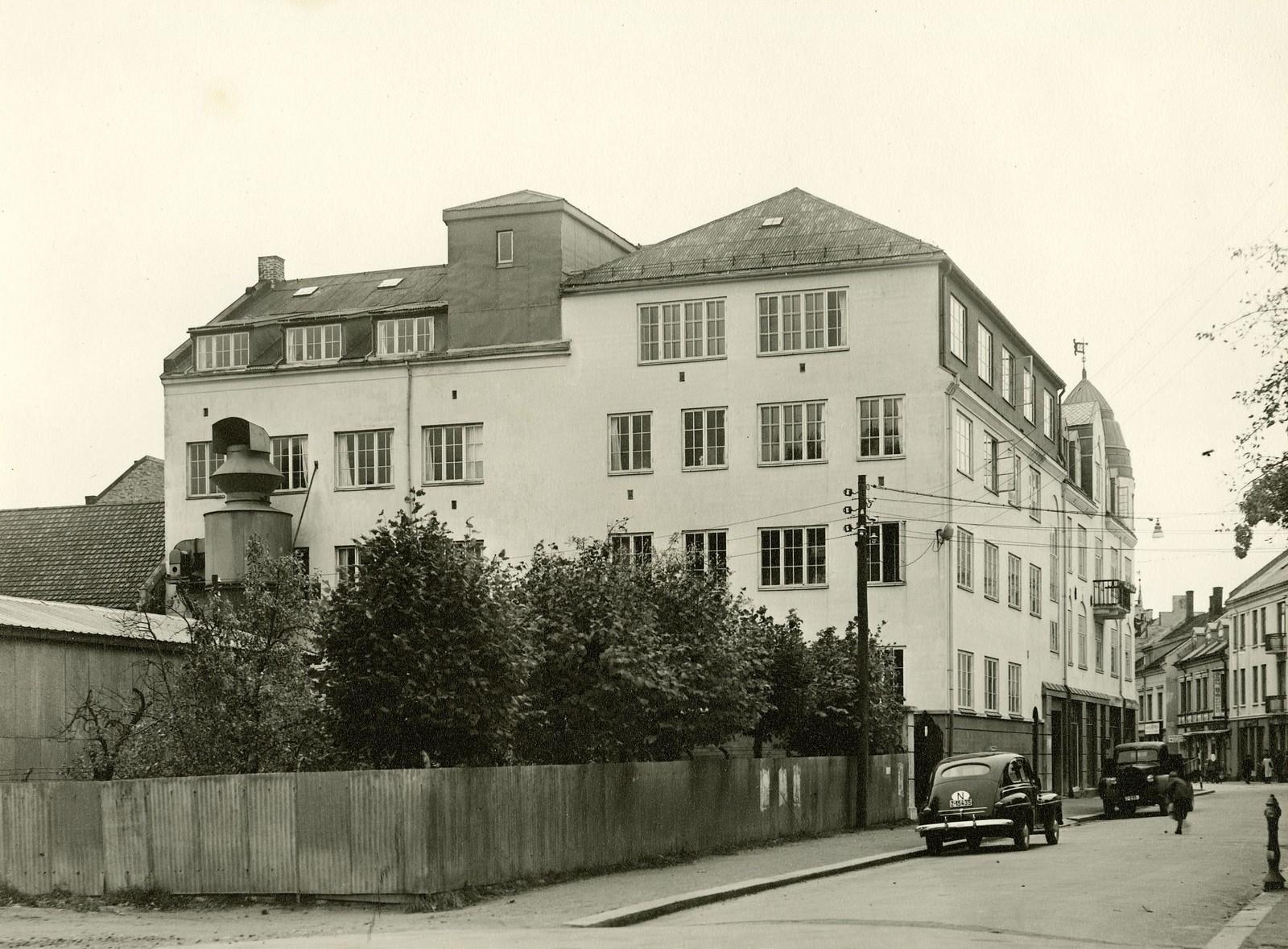Fabrikken til Sandefjord Skofabrikk AS i Kongens gate.