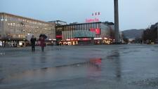 Regn i Trondheim  - Foto: Karoline Lunde Systad /NRK