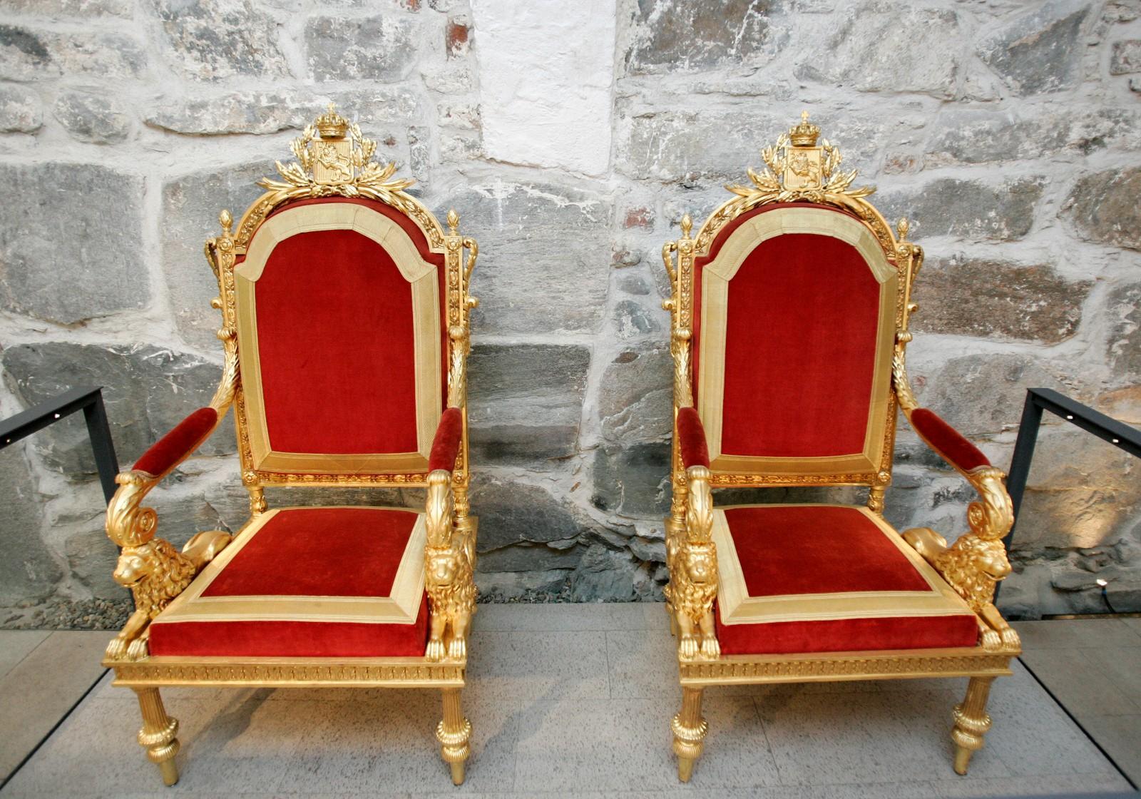Kroningsstolene fra 1818
