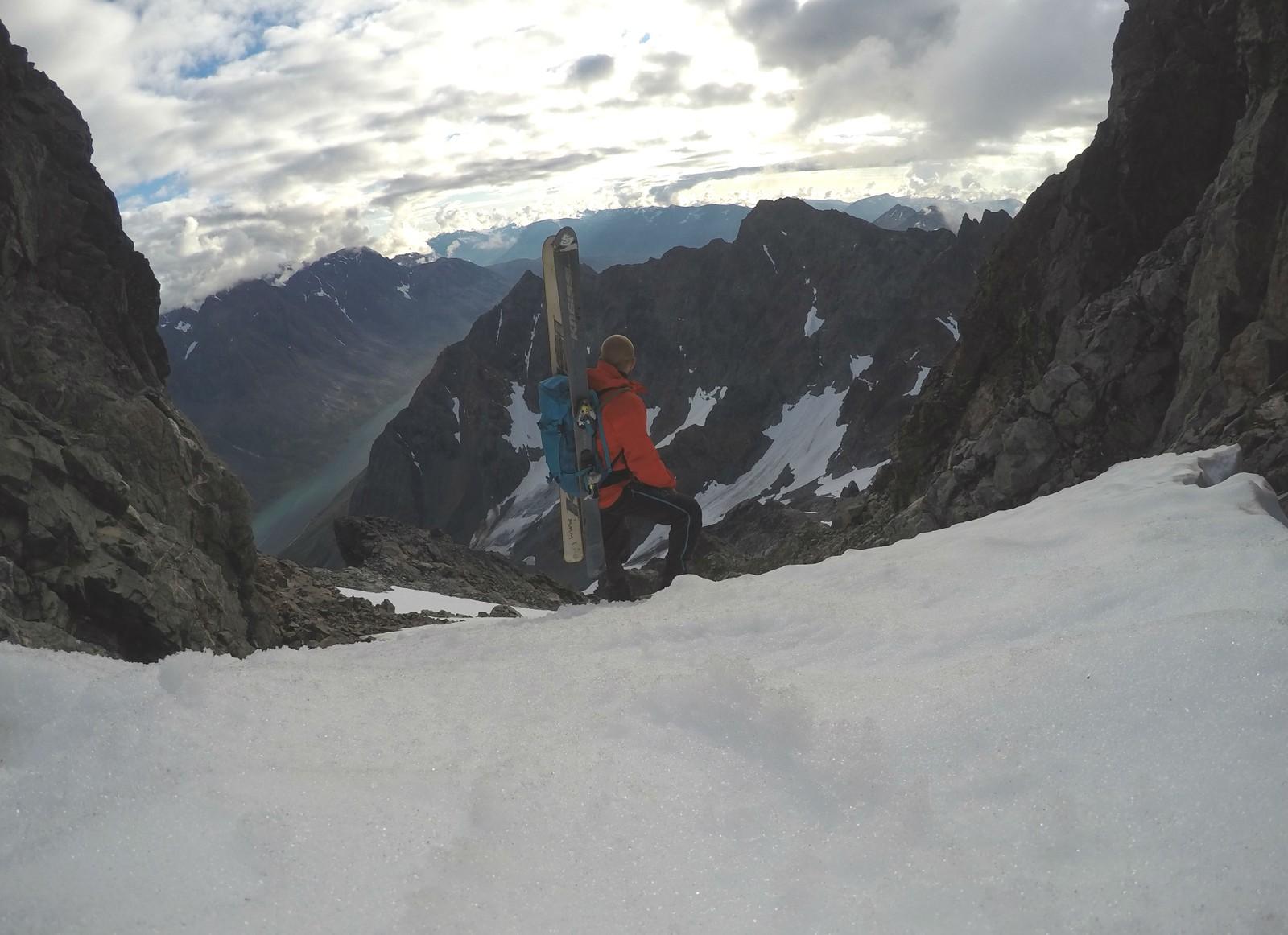 – Det var veldig flotte forhold i fjellet på torsdag, sier Nilssen.