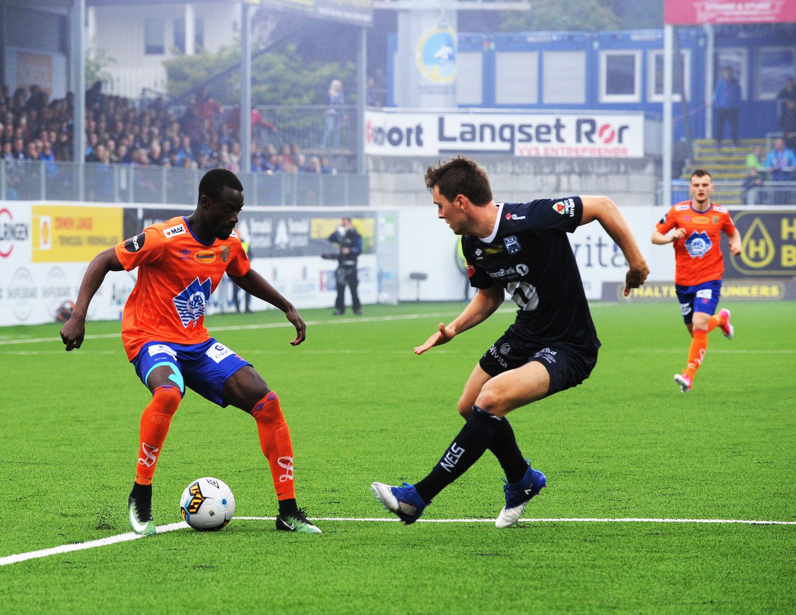 Eliteserien fotball 2017 Kristiansund-Aalesund. Kristiansund 20170617. Eliteserien fotball 2017 Kristiansund-Aalesund. Kristiansund stadion. Foto: Anders Tøsse / NTB scanpix