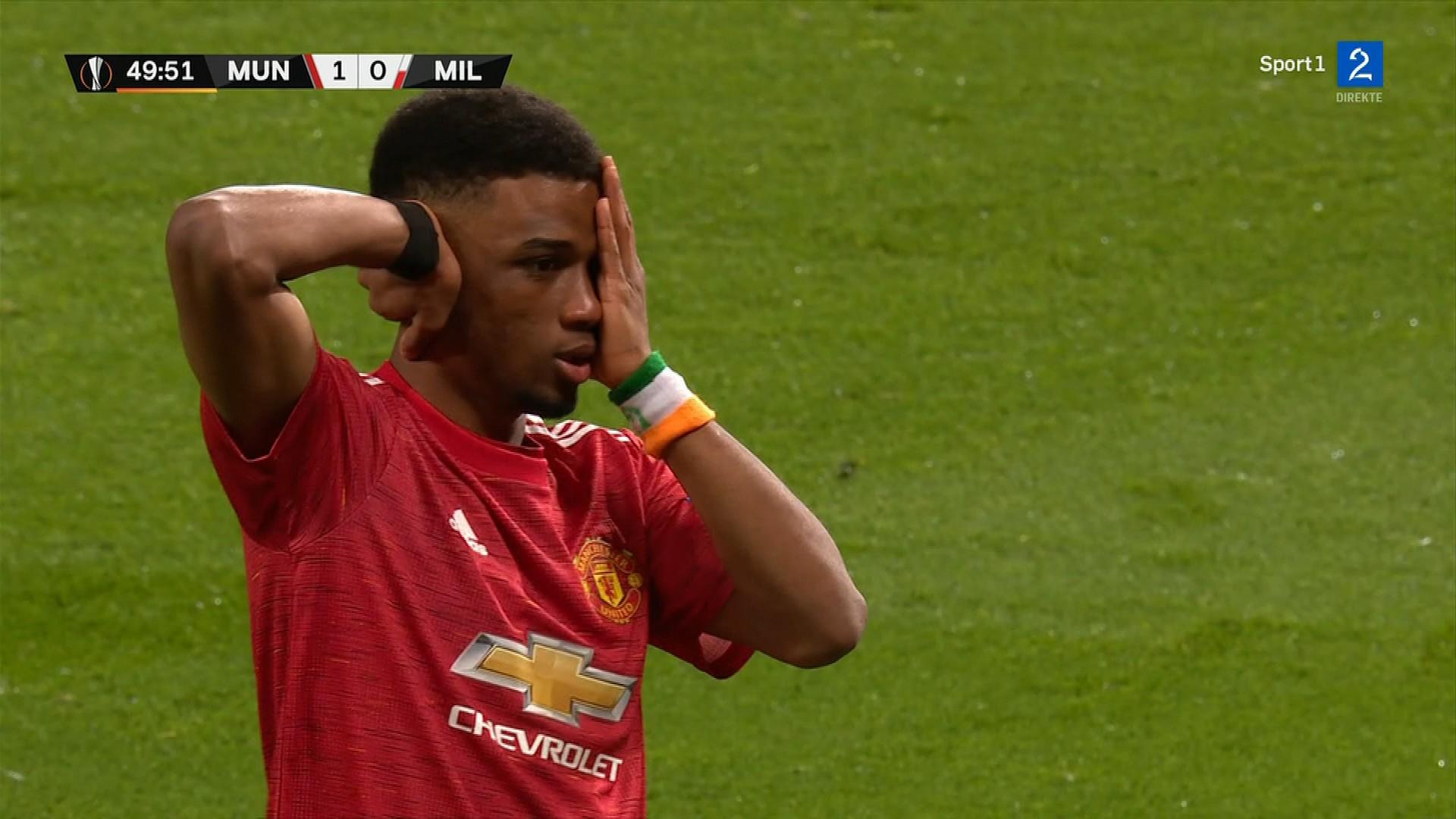 Den ukjente 18-åringens perle holdt ikke for Manchester United